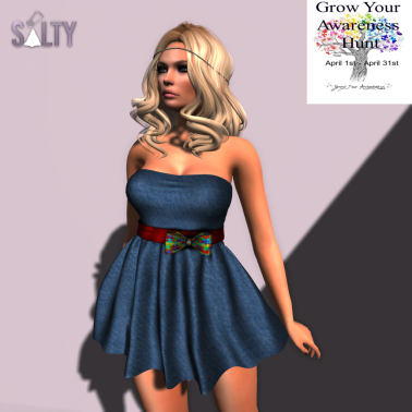 SALTY - Missy Dress GYA Hunt