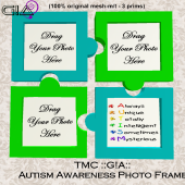 Third Moon Creations - G!A - Autism Photo Frame Vendor